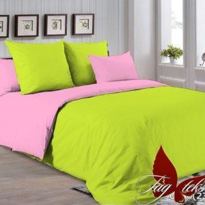 Комплект постельного белья P-0550(2311)  ПОСТЕЛЬНОЕ БЕЛЬЕ ТМ TAG > Евро > Однотонное постельное