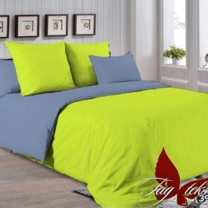 Комплект постельного белья P-0550(3917)  ПОСТЕЛЬНОЕ БЕЛЬЕ ТМ TAG > Евро > Однотонное постельное