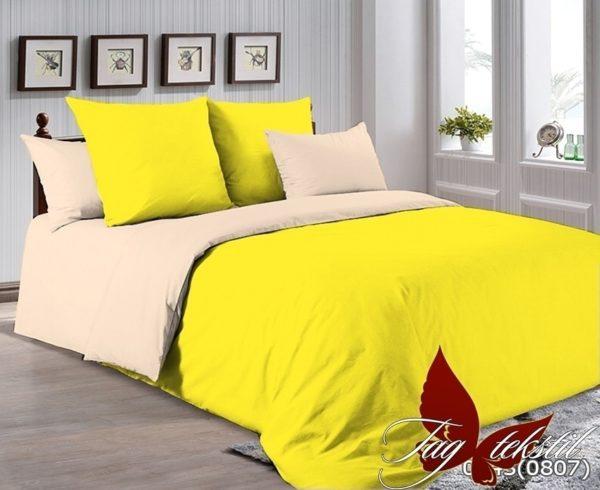 Комплект постельного белья P-0643(0807)  ПОСТЕЛЬНОЕ БЕЛЬЕ ТМ TAG > 1.5-спальные > Однотонное постельное