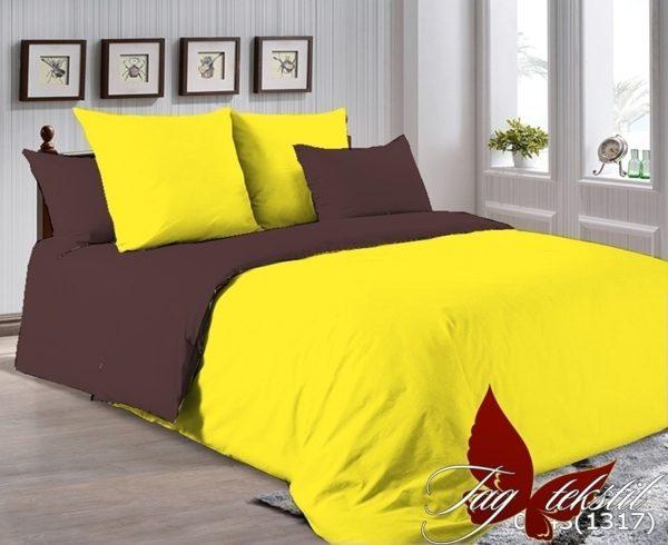 Комплект постельного белья P-0643(1317)  ПОСТЕЛЬНОЕ БЕЛЬЕ ТМ TAG > 2-спальные > Однотонное постельное