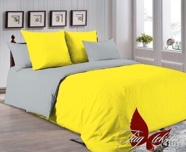 Комплект постельного белья P-0643(4101)  ПОСТЕЛЬНОЕ БЕЛЬЕ ТМ TAG > Семейные > Однотонное постельное