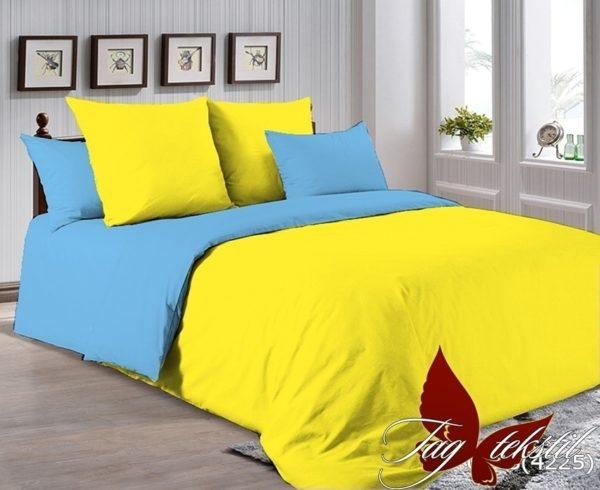 Комплект постельного белья P-0643(4225)  ПОСТЕЛЬНОЕ БЕЛЬЕ ТМ TAG > 1.5-спальные > Однотонное постельное