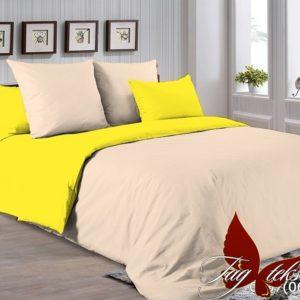 Комплект постельного белья P-0807(0643)  ПОСТЕЛЬНОЕ БЕЛЬЕ ТМ TAG > Евро > Однотонное постельное