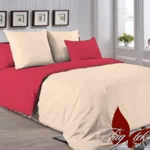 Комплект постельного белья P-0807(1661)  ПОСТЕЛЬНОЕ БЕЛЬЕ ТМ TAG > Семейные > Однотонное постельное