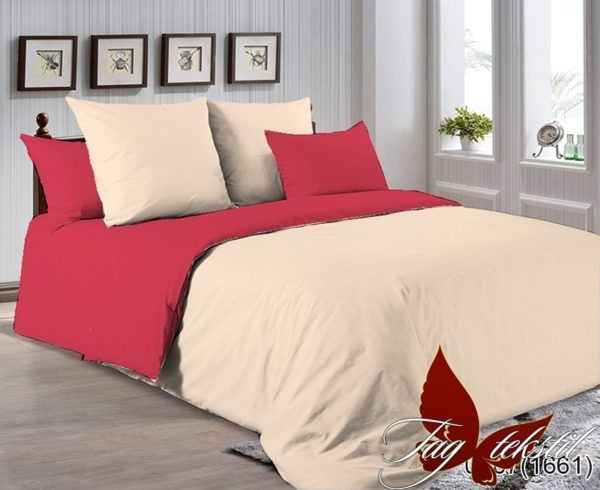 Комплект постельного белья P-0807(1661)  ПОСТЕЛЬНОЕ БЕЛЬЕ ТМ TAG > 1.5-спальные > Однотонное постельное