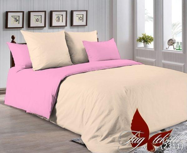 Комплект постельного белья P-0807(2311)  ПОСТЕЛЬНОЕ БЕЛЬЕ ТМ TAG > 2-спальные > Однотонное постельное