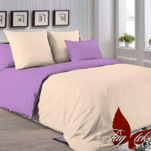 Комплект постельного белья P-0807(3520)  ПОСТЕЛЬНОЕ БЕЛЬЕ ТМ TAG > Евро > Однотонное постельное