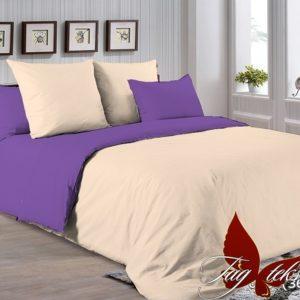 Комплект постельного белья P-0807(3633)  ПОСТЕЛЬНОЕ БЕЛЬЕ ТМ TAG > Евро > Однотонное постельное