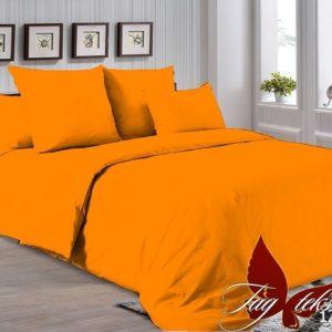 Комплект постельного белья P-1263  ПОСТЕЛЬНОЕ БЕЛЬЕ ТМ TAG > Евро maxi > Однотонное постельное
