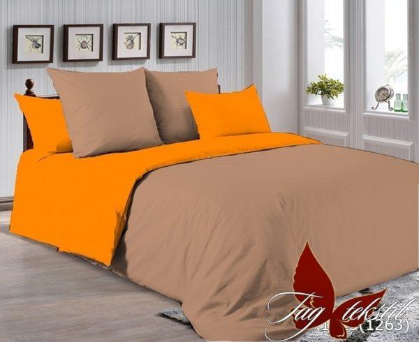 Комплект постельного белья P-1323(1263)  ПОСТЕЛЬНОЕ БЕЛЬЕ ТМ TAG > 2-спальные > Однотонное постельное