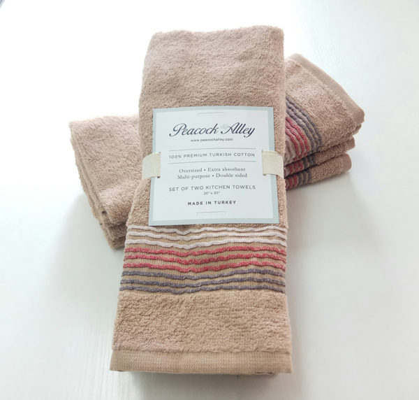 Набор полотенец 35*55 (4шт) Бежевый  Кухонные полотенца