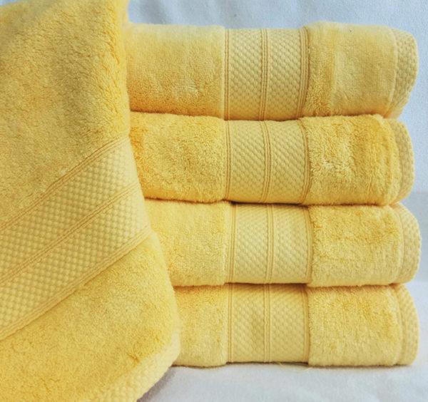 Полотенце микрокоттон Yellow  Полотенца > 70*140 от 1 ед
