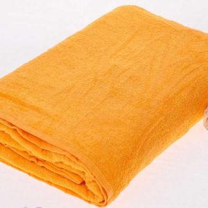 Махровая простынь желтого цвета  Простыни махровые > Размер 150х210