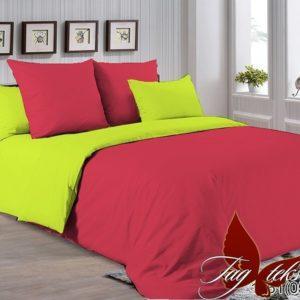 Комплект постельного белья P-1661(0550)  ПОСТЕЛЬНОЕ БЕЛЬЕ ТМ TAG > Семейные > Однотонное постельное