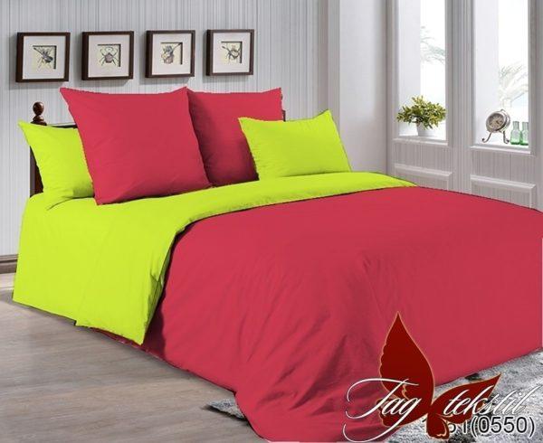 Комплект постельного белья P-1661(0550)  ПОСТЕЛЬНОЕ БЕЛЬЕ ТМ TAG > 2-спальные > Однотонное постельное