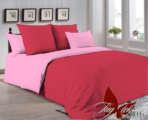 Комплект постельного белья P-1661(2311)  ПОСТЕЛЬНОЕ БЕЛЬЕ ТМ TAG > 1.5-спальные > Однотонное постельное