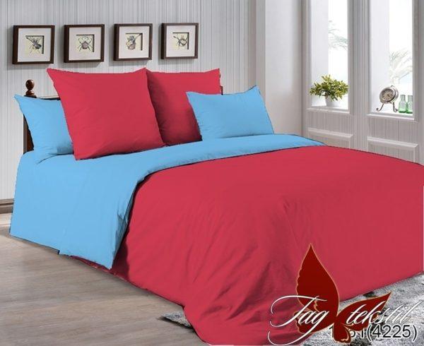Комплект постельного белья P-1661(4225)  ПОСТЕЛЬНОЕ БЕЛЬЕ ТМ TAG > 2-спальные > Однотонное постельное