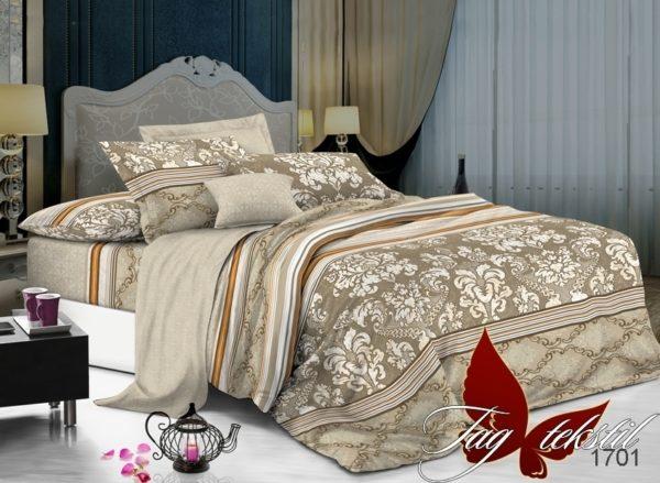Комплект постельного белья с компаньоном 1701  ПОСТЕЛЬНОЕ БЕЛЬЕ ТМ TAG > Семейные > Поплин