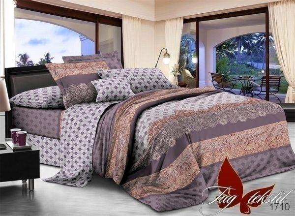 Комплект постельного белья с компаньоном 1710  ПОСТЕЛЬНОЕ БЕЛЬЕ ТМ TAG > 1.5-спальные > Поплин