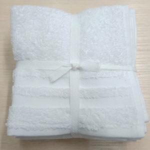 Набор полотенец 30*30 (6шт) Белые  Кухонные полотенца