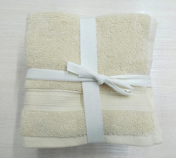 Набор полотенец 30*30 (5шт) Кремовые  Кухонные полотенца