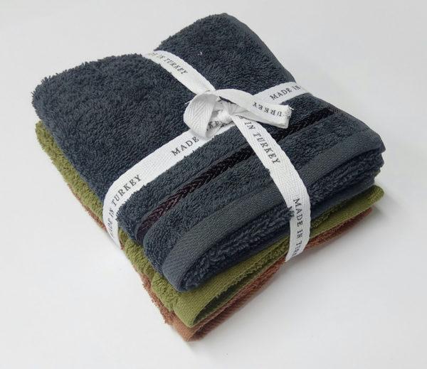 Набор полотенец 30х50 (3 шт) в ассорт.  Кухонные полотенца