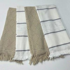Набор махровых полотенец Полоса (4 шт)  Кухонные полотенца