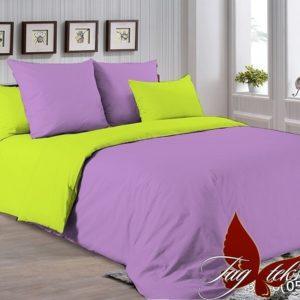 Комплект постельного белья P-3520(0550)  ПОСТЕЛЬНОЕ БЕЛЬЕ ТМ TAG > Евро > Однотонное постельное