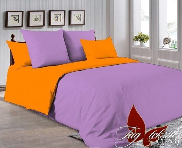 Комплект постельного белья P-3520(1263)  ПОСТЕЛЬНОЕ БЕЛЬЕ ТМ TAG > Семейные > Однотонное постельное
