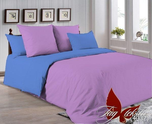 Комплект постельного белья P-3520(4037)  ПОСТЕЛЬНОЕ БЕЛЬЕ ТМ TAG > Семейные > Однотонное постельное