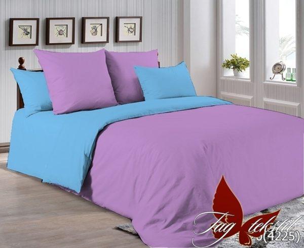 Комплект постельного белья P-3520(4225)  ПОСТЕЛЬНОЕ БЕЛЬЕ ТМ TAG > Семейные > Однотонное постельное