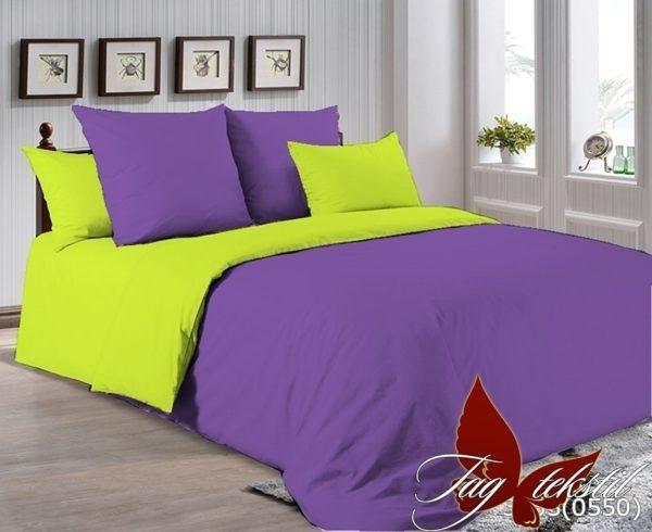 Комплект постельного белья P-3633(0550)  ПОСТЕЛЬНОЕ БЕЛЬЕ ТМ TAG > 2-спальные > Однотонное постельное