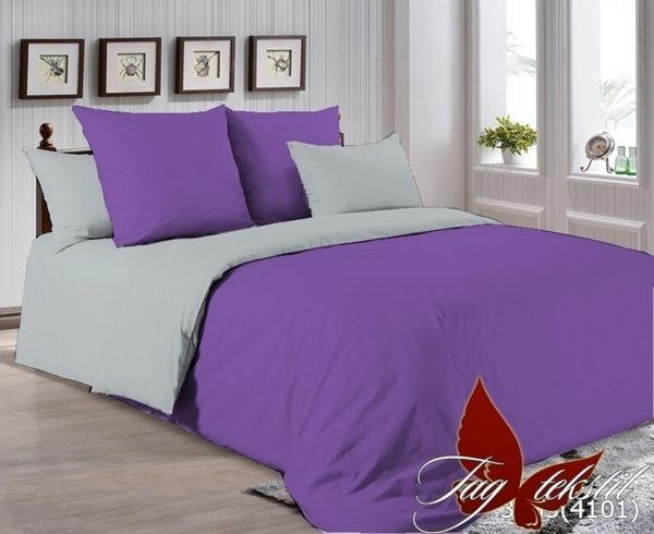 Комплект постельного белья P-3633(4101)  ПОСТЕЛЬНОЕ БЕЛЬЕ ТМ TAG > 1.5-спальные > Однотонное постельное