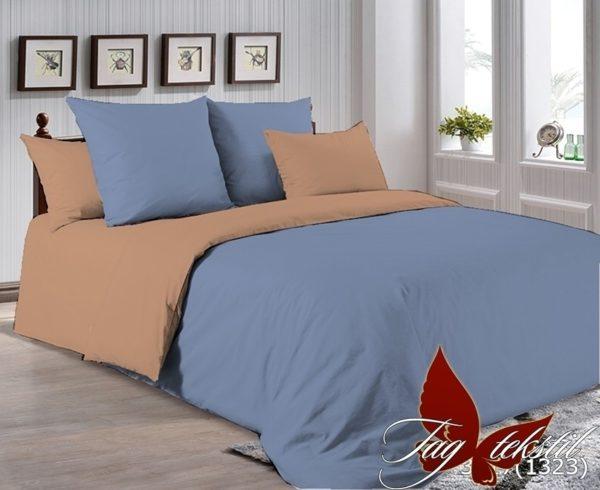 Комплект постельного белья P-3917(1323)  ПОСТЕЛЬНОЕ БЕЛЬЕ ТМ TAG > 1.5-спальные > Однотонное постельное
