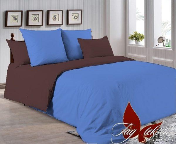 Комплект постельного белья P-4037(1317)  ПОСТЕЛЬНОЕ БЕЛЬЕ ТМ TAG > Евро > Однотонное постельное