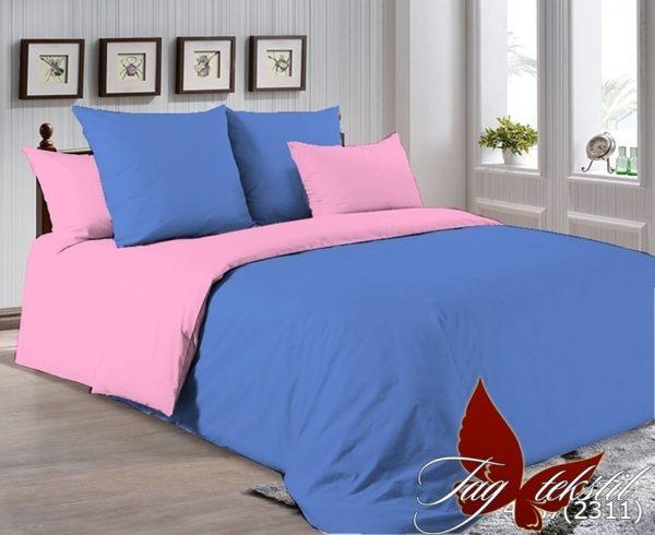 Комплект постельного белья P-4037(2311)  ПОСТЕЛЬНОЕ БЕЛЬЕ ТМ TAG > Евро > Однотонное постельное
