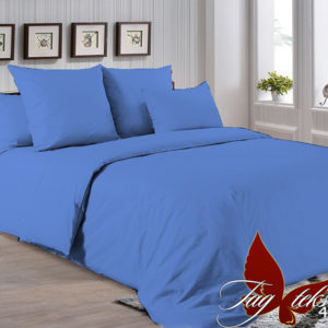 Комплект постельного белья P-4037  ПОСТЕЛЬНОЕ БЕЛЬЕ ТМ TAG > Евро > Однотонное постельное