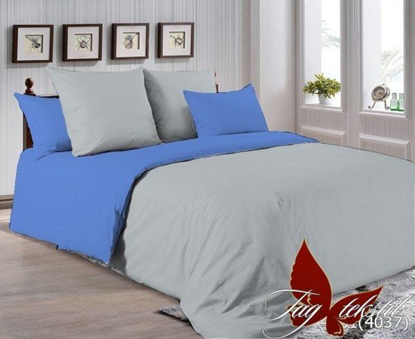 Комплект постельного белья P-4101(4037)  ПОСТЕЛЬНОЕ БЕЛЬЕ ТМ TAG > Семейные > Однотонное постельное