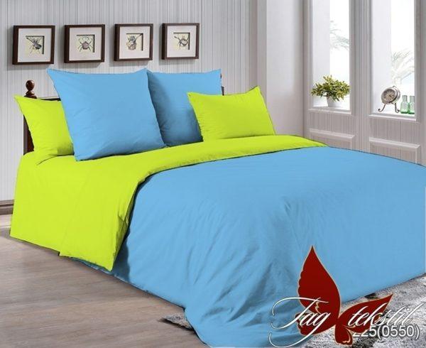 Комплект постельного белья P-4225(0550)  ПОСТЕЛЬНОЕ БЕЛЬЕ ТМ TAG > Семейные > Однотонное постельное