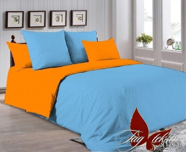 Комплект постельного белья P-4225(1263)  ПОСТЕЛЬНОЕ БЕЛЬЕ ТМ TAG > Семейные > Однотонное постельное