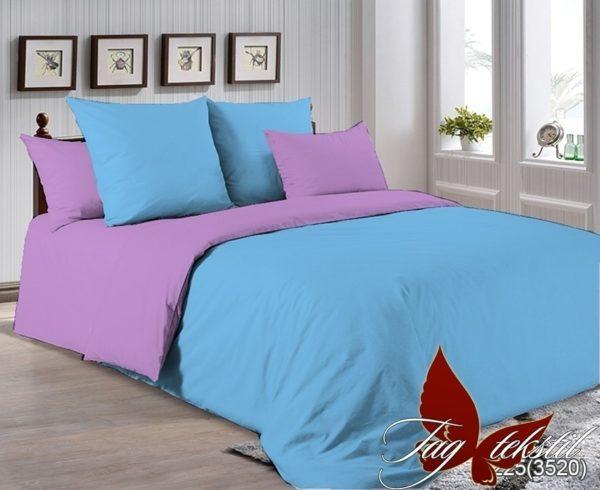 Комплект постельного белья P-4225(3520)  ПОСТЕЛЬНОЕ БЕЛЬЕ ТМ TAG > Семейные > Однотонное постельное