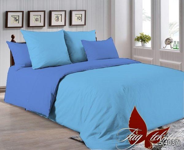 Комплект постельного белья P-4225(4037)  ПОСТЕЛЬНОЕ БЕЛЬЕ ТМ TAG > Семейные > Однотонное постельное