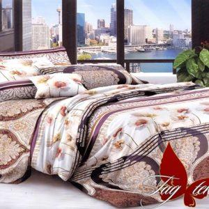Комплект постельного белья B233  ПОСТЕЛЬНОЕ БЕЛЬЕ ТМ TAG > Евро > Поликоттон 3D