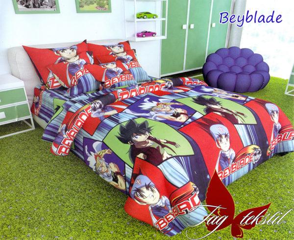 Комплект постельного белья Beyblade  ПОСТЕЛЬНОЕ БЕЛЬЕ И ТОВАРЫ ДЛЯ ДЕТЕЙ > 1.5-спальные