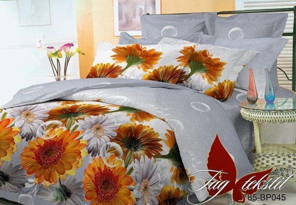 Комплект постельного белья BP045  ПОСТЕЛЬНОЕ БЕЛЬЕ ТМ TAG > Евро > Поликоттон 3D