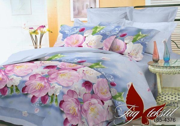 Комплект постельного белья BR4376  ПОСТЕЛЬНОЕ БЕЛЬЕ ТМ TAG > Евро > Поликоттон 3D