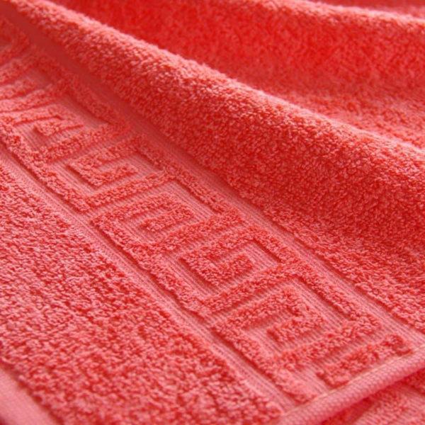 Полотенце махровое Coral red  Полотенца > 50*90 от 1 ед
