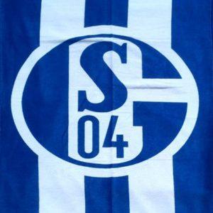 Полотенце пляжное FC SCHALKE 04  Пляжные полотенца