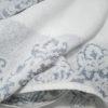 Полотенце жаккард Узор серое 2 Постельный комплект