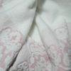 Полотенце жаккард Узор розовое 2 Постельный комплект